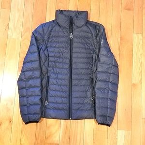 Packable down fill jacket never worn
